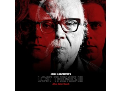JOHN CARPENTER - Lost Themes III (Red Vinyl) (Indies Only) (LP)