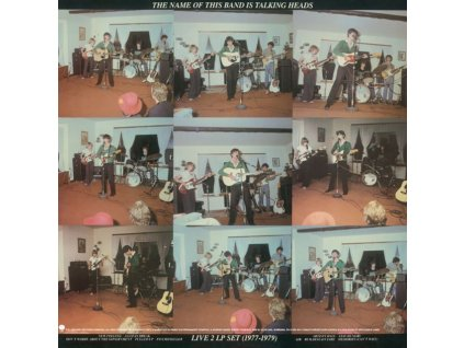 TALKING HEADS - Name Of This Band Is Talking Heads (Red Opaque Vinyl) (Syeor) (LP)