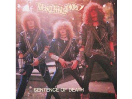 DESTRUCTION - Sentence Of Death (Splatter Vinyl) (LP)