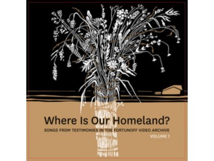 ZISL SLEPOVITCH & SASHA LURJE - Where Is Our Homeland? Songs From Testimonies In The Fortunoff Video Archive Vol. 1 (LP)