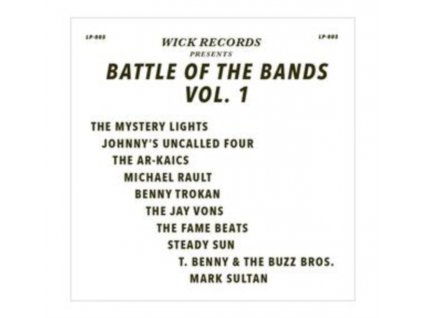 VARIOUS ARTISTS - Battle Of The Bands Vol. I (LP)