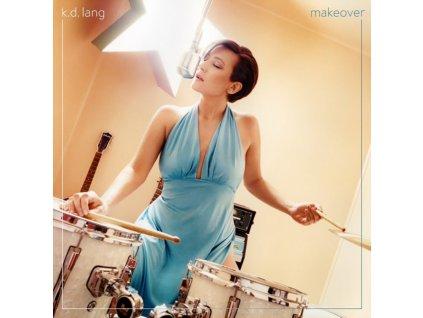 K.D. LANG - Makeover (Transparent Turquoise Vinyl) (LP)