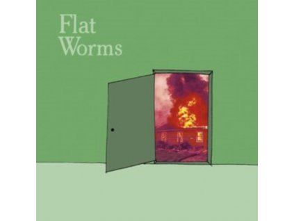 """FLAT WORMS - The Guest / Circle (7"""" Vinyl)"""