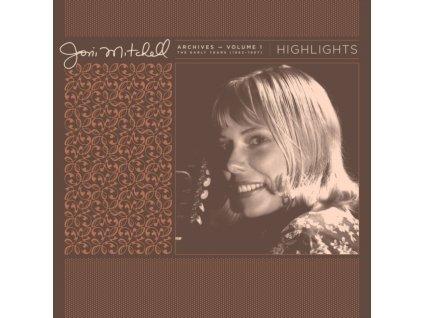 JONI MITCHELL - Joni Mitchell Archives. Vol. 1 (1963-1967): Highlights (RSD 2021) (LP)