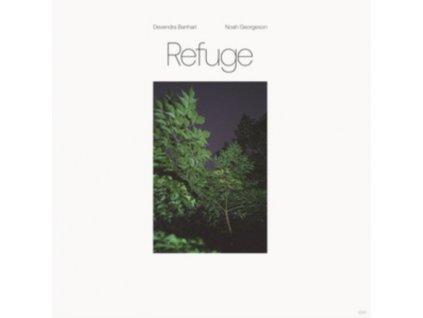 DEVENDRA BANHART & NOAH GEORGESON - Refuge (Blue Seaglass Wave Translucent Vinyl) (LP)