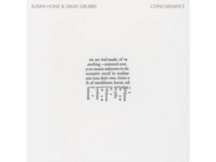 SUSAN HOWE & DAVID GRUBBS - Concordance (LP)