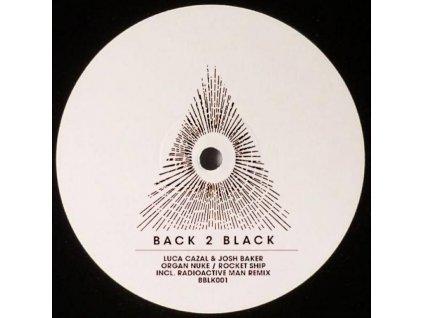 "LUCA CAZAL & JOSH BAKER - Organ Nuke / Rocket Ship (Incl. Radioactive Man Remix) (12"" Vinyl)"