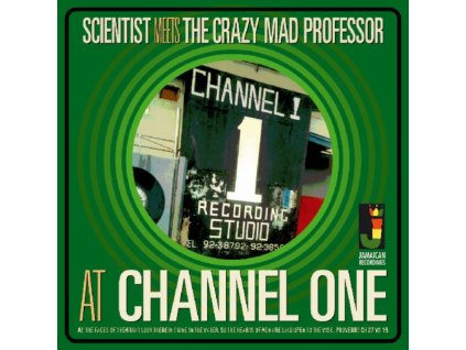 SCIENTIST MEETS THE CRAZY MAD PROFESSOR - At Channel One (LP)