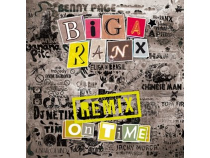 BIGA RANX - On Time Remix (LP)