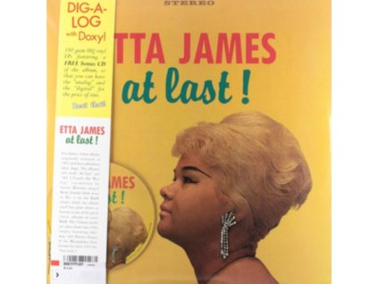 ETTA JAMES - At Last! (LP + CD)