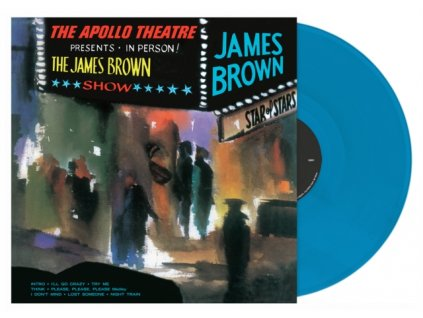 JAMES BROWN - Live At The Apollo (Cyan Blue Vinyl) (LP)