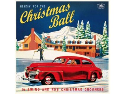 VARIOUS ARTISTS - Headin For The Christmas Ball (14 Swing And R&B Xmas Crooners) (LP)