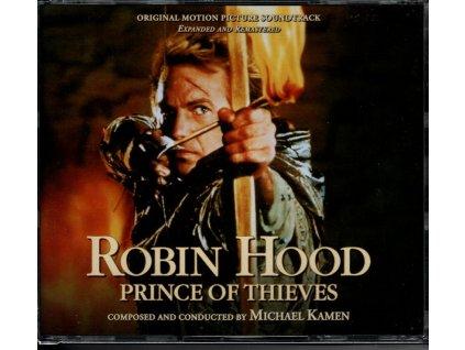 Robin Hood: Král zbojníků (soundtrack - CD) Robin Hood: Prince of Thieves (4 CD)