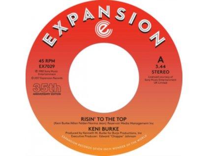 "KENI BURKE - Risin To The Top / Hang Tight (7"" Vinyl)"