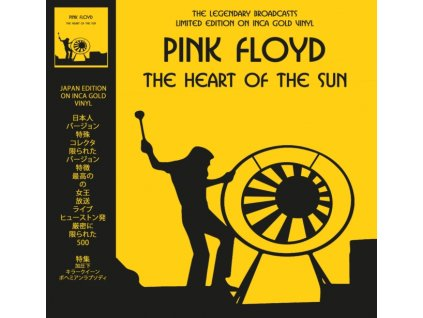 PINK FLOYD - The Heart Of The Sun - Inca Gold Vinyl (LP)