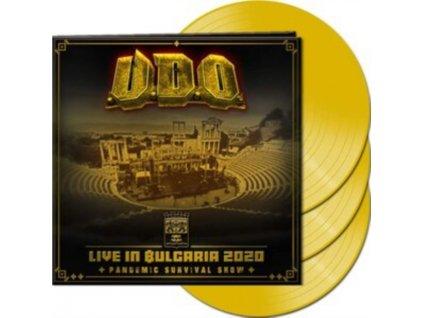 U.D.O. - Live In Bulgaria 2020 - Pandemic Survival Show (Yellow Vinyl) (LP)