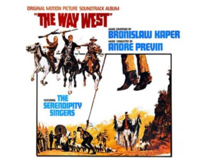 BRONISLAW KAPER CONDUCTED BY ANDRE PREVIN - The Way West - OST (CD)
