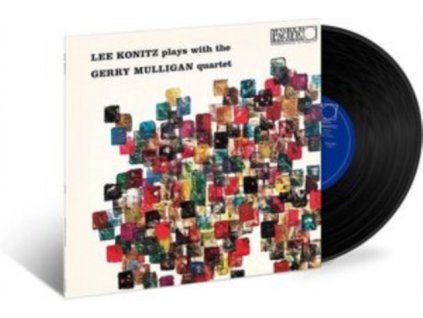 LEE KONITZ & GERRY MULLIGAN - Lee Konitz Plays With The Gerry Mulligan Quartet (LP)