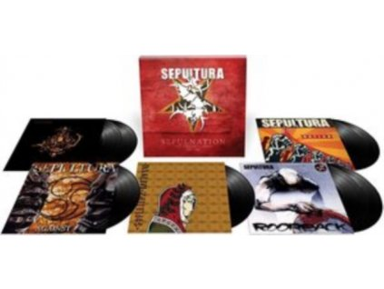SEPULTURA - Sepulnation - The Studio Albums 1998-2009 (LP Box Set)