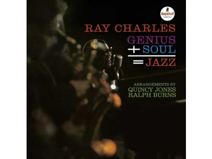 RAY CHARLES - Genius + Cool = Jazz (1961) (LP)