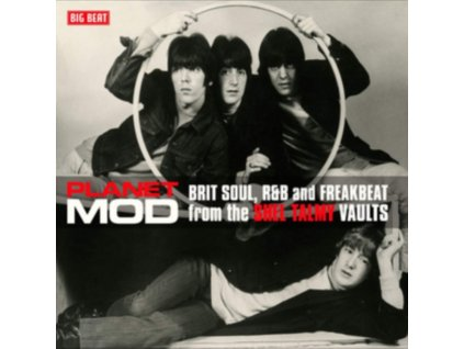 VARIOUS ARTISTS - Planet Mod: Brit Soul. R&B And Freakbeat From The Shel Talmy Vaults (LP)