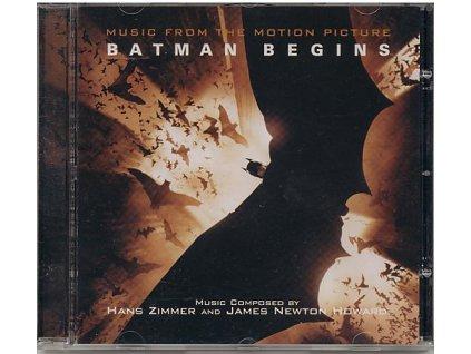 Batman začíná (soundtrack - CD) Batman Begins