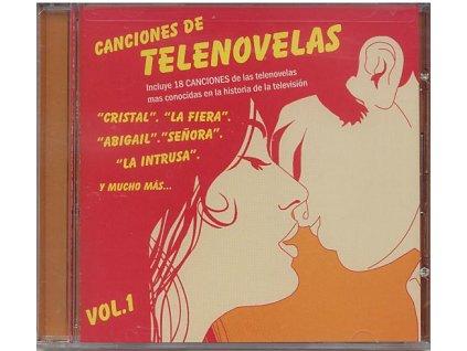 Canciones de Telenovelas vol. 1 (CD)
