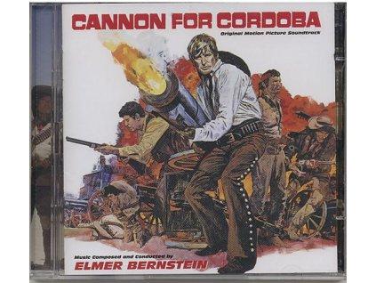 Děla pro Cordobu (soundtrack - CD) Cannon for Cordoba