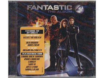 Fantastická čtyřka (soundtrack - CD) Fantastic Four