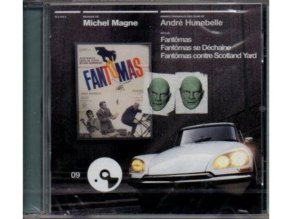 fantomas soundtrack cd michel magne