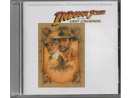Indiana Jones a Poslední křížová výprava (soundtrack - CD) Indiana Jones and the Last Crusade