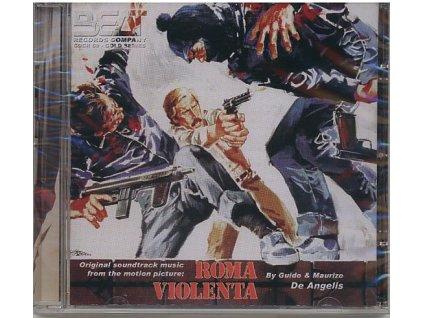Krutý Řím (soundtrack - CD) Roma Violenta - Violent City