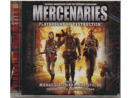 Mercenaries: Playground of Destruction (soundtrack - CD)
