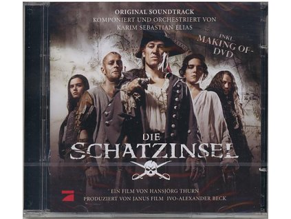 Ostrov pokladů (soundtrack - CD) Die Schatzinsel - Treasure Island