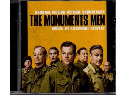 Památkáři (soundtrack - CD) The Monuments Men