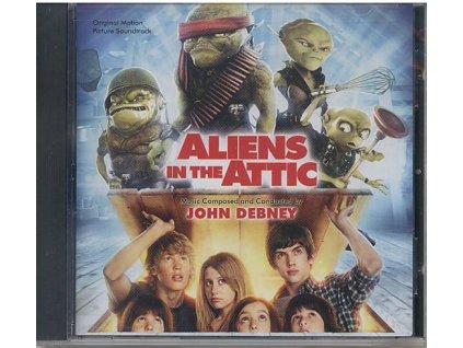 Příšerky z podkroví (soundtrack - CD) Aliens in the Attic