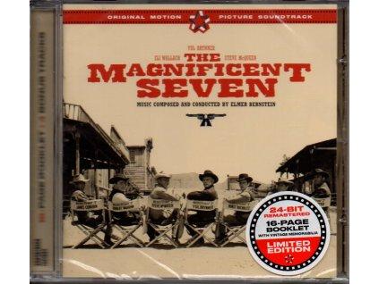 magnificent seven soundtrack cd elmer bernstein
