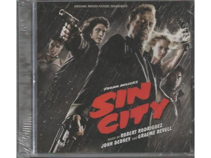 Sin City - město hříchu (soundtrack - CD)