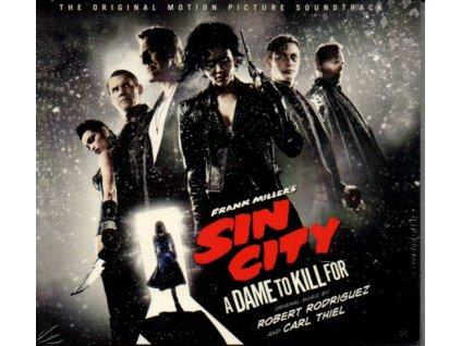 Sin City: Ženská, pro kterou bych vraždil (soundtrack - CD) Sin City: A Dame to Kill For