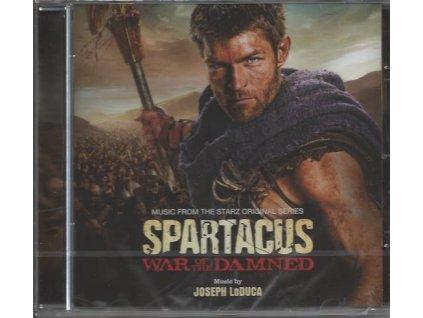 Spartakus: Krev a písek (soundtrack - CD) Spartacus: War of the Damned