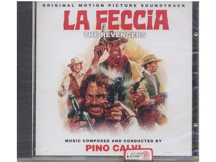 The Revengers (soundtrack - CD) La Feccia