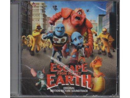 Útěk z planety Země (soundtrack - CD) Escape from Planet Earth
