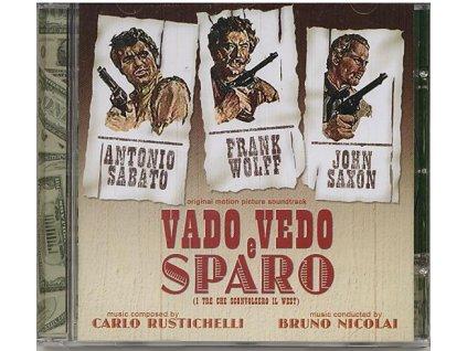Vado, Vedo e Sparo (soundtrack - CD) I Tre Che Sconvolsero il West