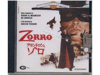 Zorro (soundtrack - CD)