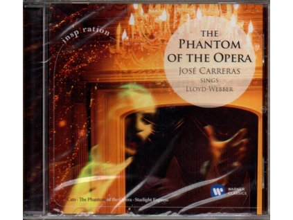 phantom of the opera josé carreras sings lloyd webber cd