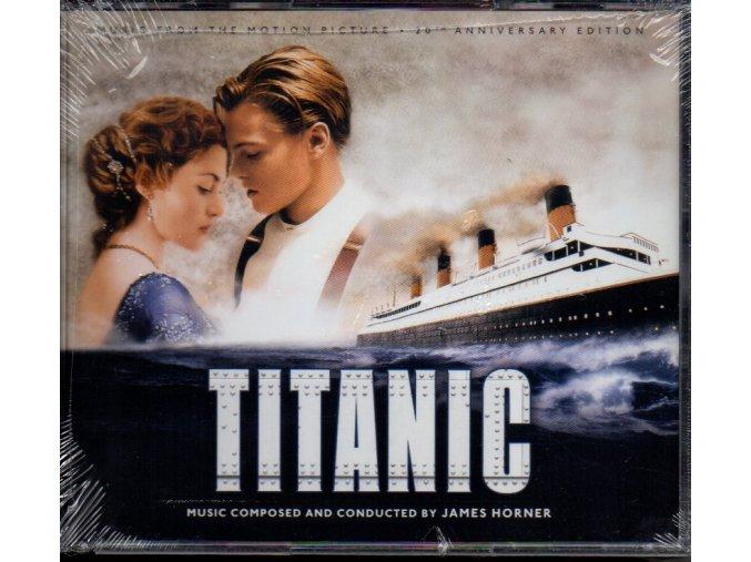 titanic soundtrack 4 cd james horner