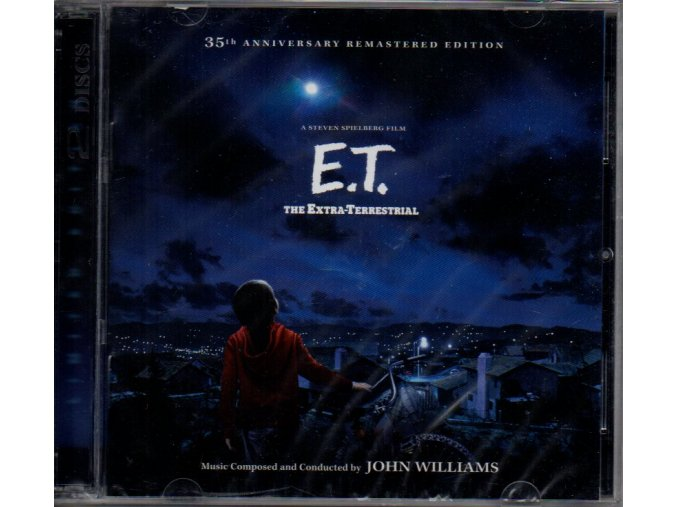 e.t. the extra terrestrial soundtrack 2 cd john williams