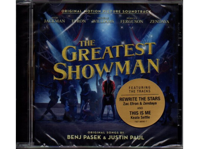 greatest showman soundtrack cd