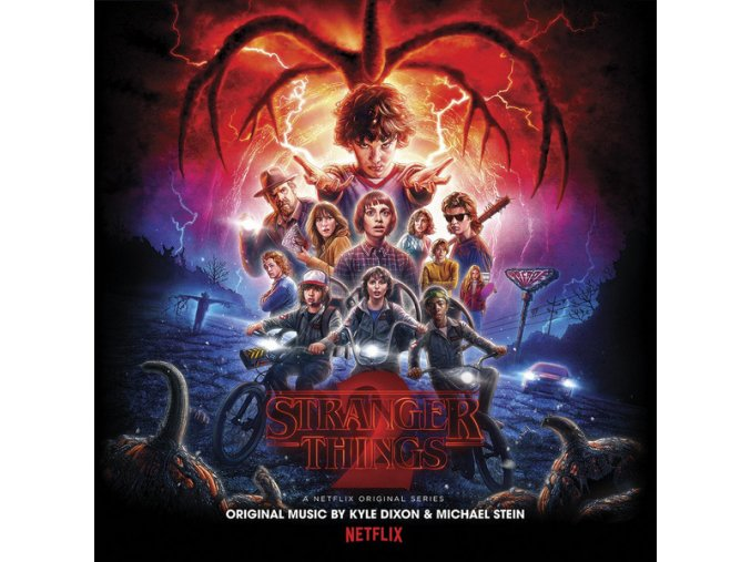 stranger things soundtrack dixon stein 2 lp vinyl