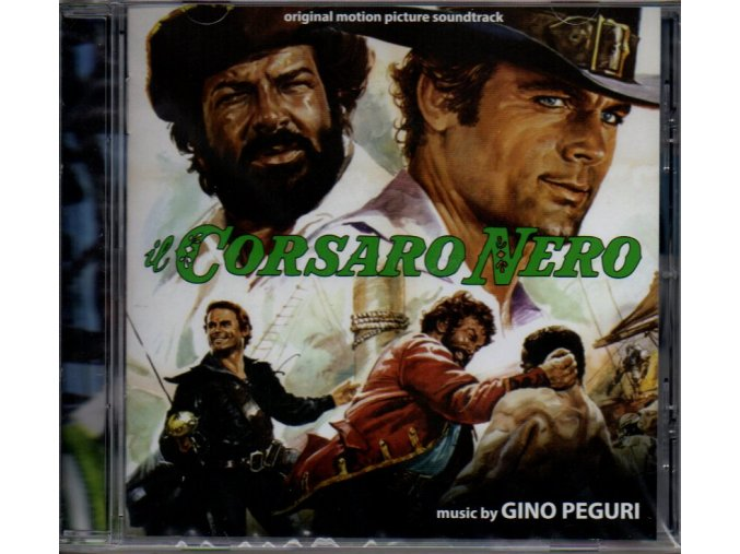 il corsaro nero soundtrack cd gino peguri